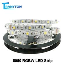 Свет RGBW 5050 светодиодные ленты,12 В 60LED/м,RGB+Белый,RGB+теплый белый,красивый цвет вы никогда не видели прежде!