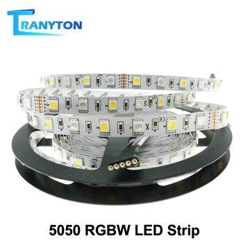 цена на LED Strip 5050 RGBW Waterproof /Non Waterproof DC12V /24V Neon Tape Strip Light 60 /96 LED/m RGB+White / RGB+Warm White 5M