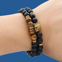 Eagle-Bracelet Armband Donna-Accessories Jewelry Stone-Beads Women for Pulseiras Bracciali