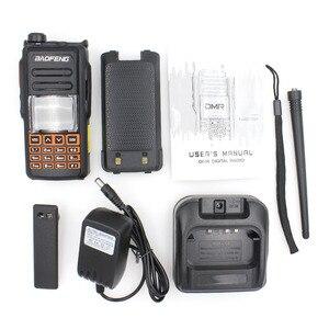 Image 5 - جديد BaoFeng UHF VHF المزدوج العلامة التجارية DMR DM 760 الطبقة 1 و 2 المزدوج الوقت فتحة الرقمية/التناظرية اسلكية تخاطب مع نظام تحديد المواقع uppclass من DM 1701