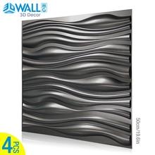 Wall-Sticker Decorative 3D Kitchen Waterproof Mural Living-Room Bathroom 50x50cm Three-Dimensional