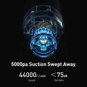 Baseus A2 Auto Staubsauger Mini Handheld Auto Staubsauger mit 5000Pa Leistungsstarke Saug Für Home & Auto & büro