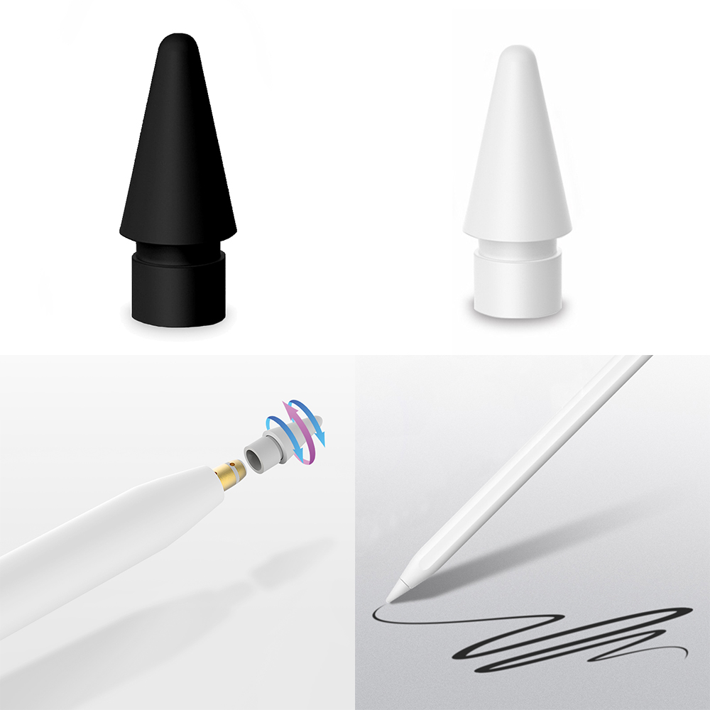 CASPTM Spare Nib Replacement Tip Compatible For Apple Pencil 1st Generation, High Sensitive Stylus Pen Spare Nib For I Pencil 1