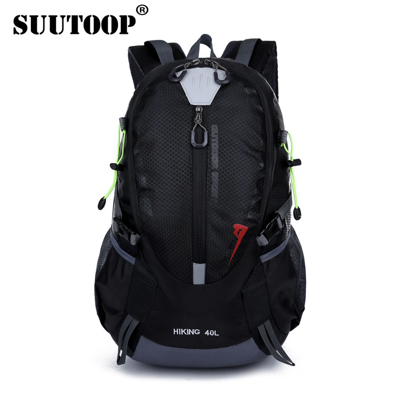 Unisex Men's Waterproof Backpack Travel Pack Sports Bag Outdoor 40L Mountaineering Hiking Climbing Camping Backpack For Male
