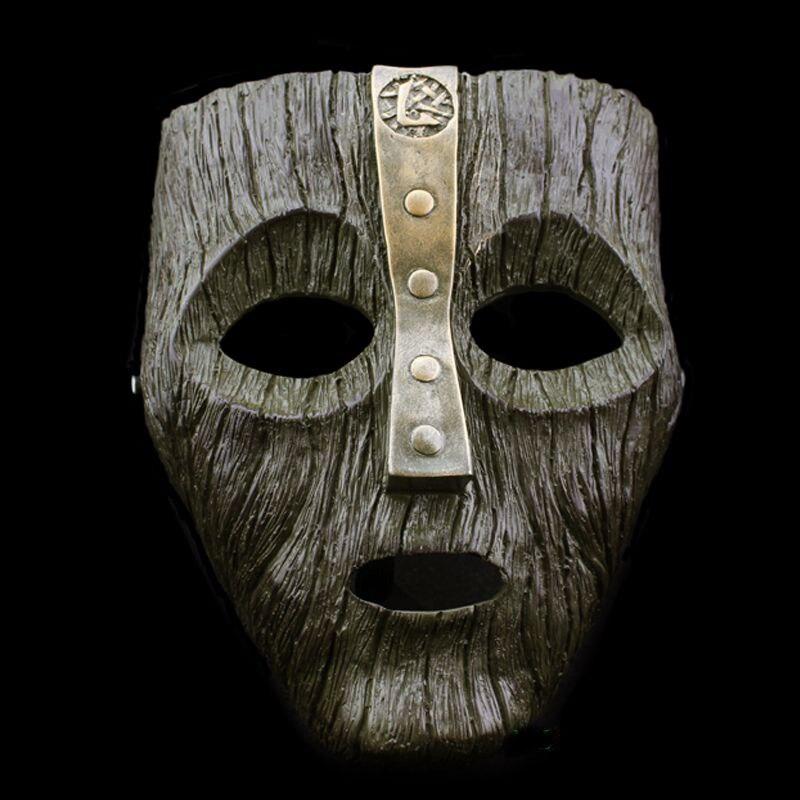 Jim Carrey Cameron Diaz Venetian Mardi Gras Loki Anonymous Mask The God OF Mischief Masquerade Cosplay Resin Masks FreeShipping
