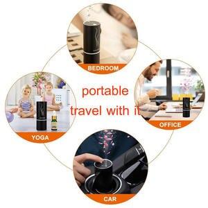 Image 5 - GIAHOL Mini Car Aroma Diffuser 20ml Metal Body Car Air Freshener Waterless Pure Essential Oil Diffuser for Car Room