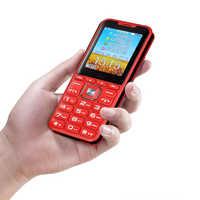 Sbloccare 2G GSM Quad 4 Sim Quad Standby Del Telefono Mobile Magic Voice Changer Accumulatori e caricabatterie di riserva Grande Altoparlante Suono 3.0 Display dual Torcia Elettrica