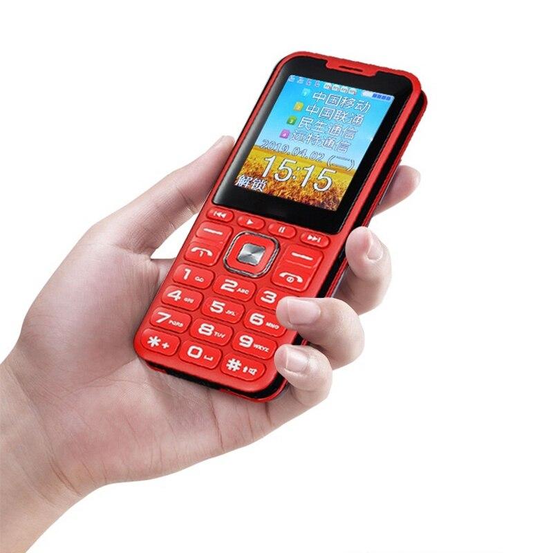 Unlock 2G GSM Quad 4 Sim Quad Standby Mobile Phone Magic Voice Changer Power Bank Big Speaker Sound 3.0 Display Dual Flashlight