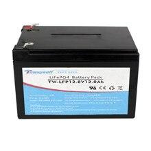 Varicore 12ah lifepo4 bateria diy 12v 24v 7ah bateria recarregável para carro elétrico rv energia solar livre de impostos