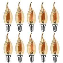 Grensk 4 Вт Светодиодный светильник накаливания с регулируемой