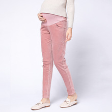 Casual Adjustable Maternity Pants for Pregnant Women Clothes High Waist Clothing
