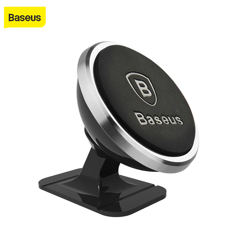 Baseus Universal Car Phone Holder 360 Degree GPS Magnetisk Mobiltelefon Holder For iPhone X magnet telefon Holder stativ i bil
