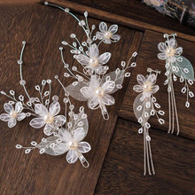 wedding hair jewelry barrette  accessories tiaras pearl hairpins combs fashion