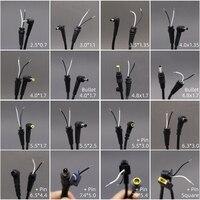 Cable de alimentación de 4,8x1,7mm, 5,5x2,1mm, 5,5x2,5mm, 7,4x5,0mm, Conector de enchufe de cargador de CC para Acer, Asus, Toshiba, Lenovo, 1 Uds.