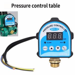 "Image 2 - לחץ דיגיטלי בקרת מתג WPC 10, תצוגה דיגיטלית Eletronic לחץ בקר עבור מים משאבת עם G1/2 ""מתאם"