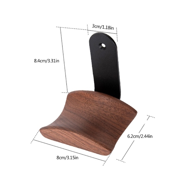 2021 New Universal Headphone Stand Holder Wall mounted Headset Hanger Hook Bracket Rack