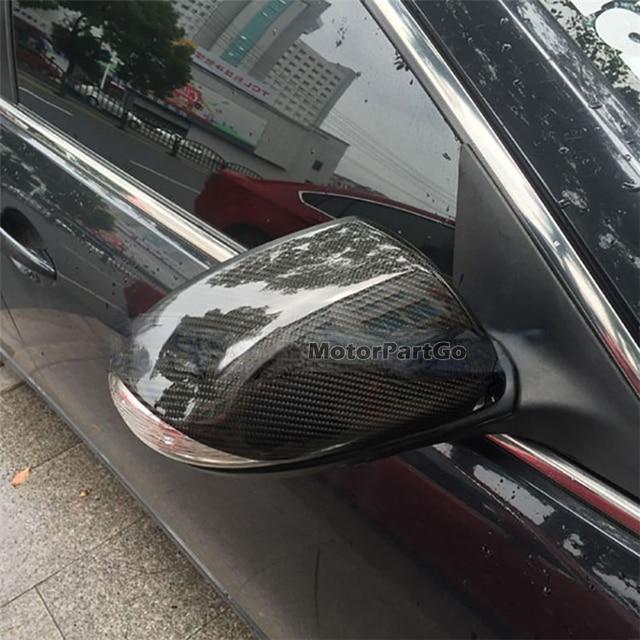 Real Crabon Fiber Mirror Cover 1 pair for Mazda 3 stars 2010-2012   T241M 6
