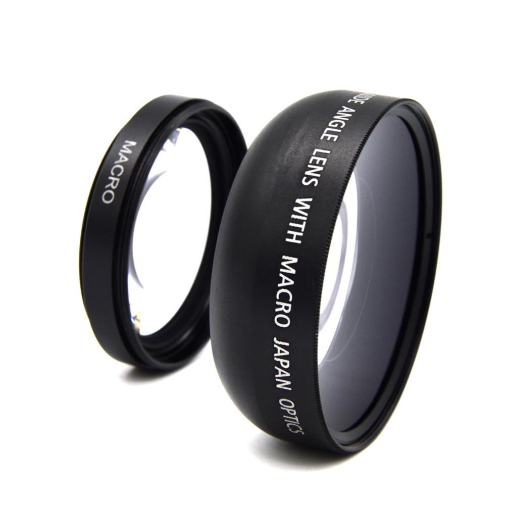 0,45x52 мм широкоугольный макрообъектив широкоугольный объектив камеры для Canon EOS Nikon для sony Аксессуары для объективов