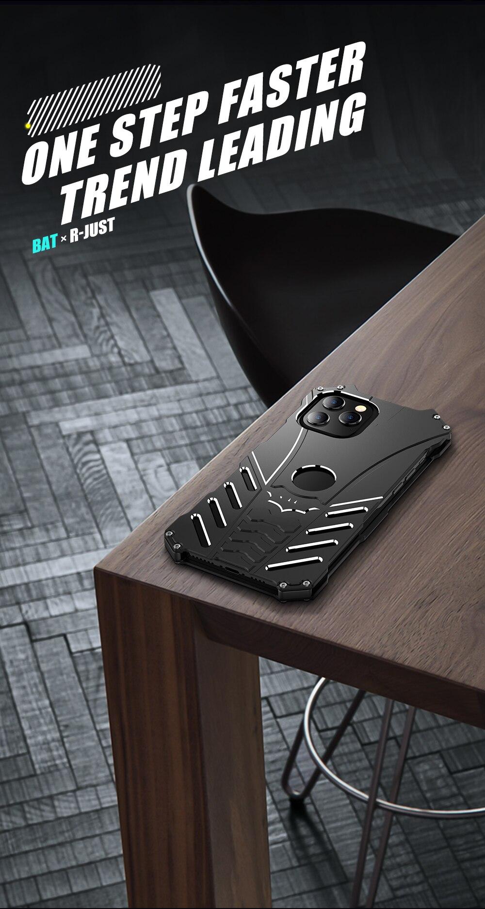 iPhone 12 Batman Aluminum phone case (10)