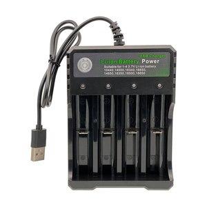 Новый оригинальный BMAX 3,7 V перезаряжаемый аккумулятор Зарядное устройство s 18650/26650/18350/16340/18500/14500 литиевая батарея Зарядное устройство-USB