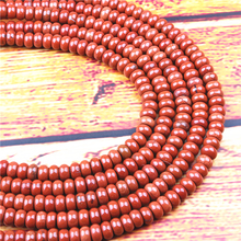 Redstone Natural Gem 4X6/5X8MM Abacus Bead Spacer Bead Wheel Bead Accessory For Jewelry Making Diy Bracelet Necklace