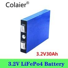 Colaier 3.2V 30AH 5C LiFePo4 battery 3.2V lithium bateria for diy 12V lifepo4 e bike e scooter wheel chair AGV car Golf carts