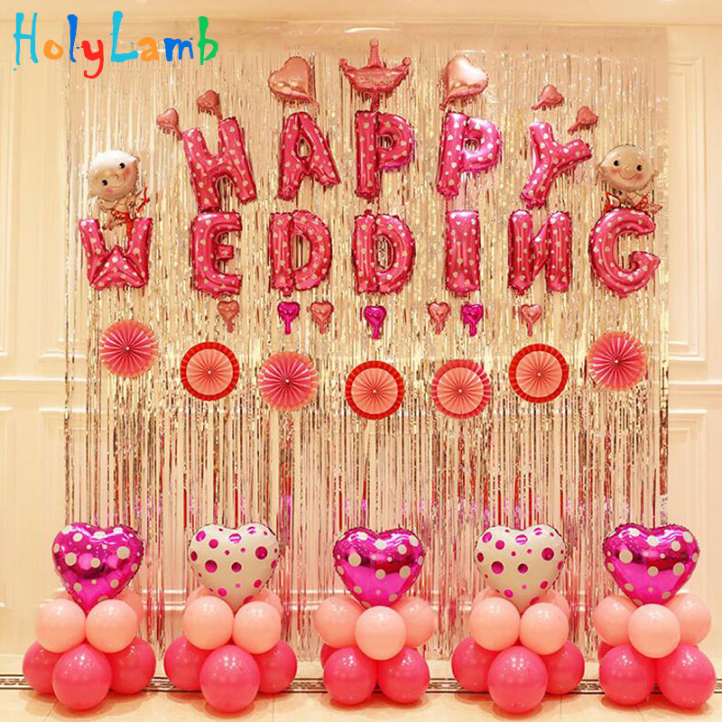 Expand Size 100cmx200cm Balloon Curtain Birthday Scene Balloon Background Decorations Kid Party Balloon Toy Children's Birthday
