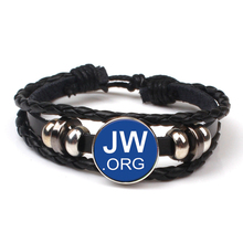 Fashion JW.ORG Casual Leather Bracelet JW Child Caleb Sophia Jehovah Bloodless Multilayer Party Gift Souvenir