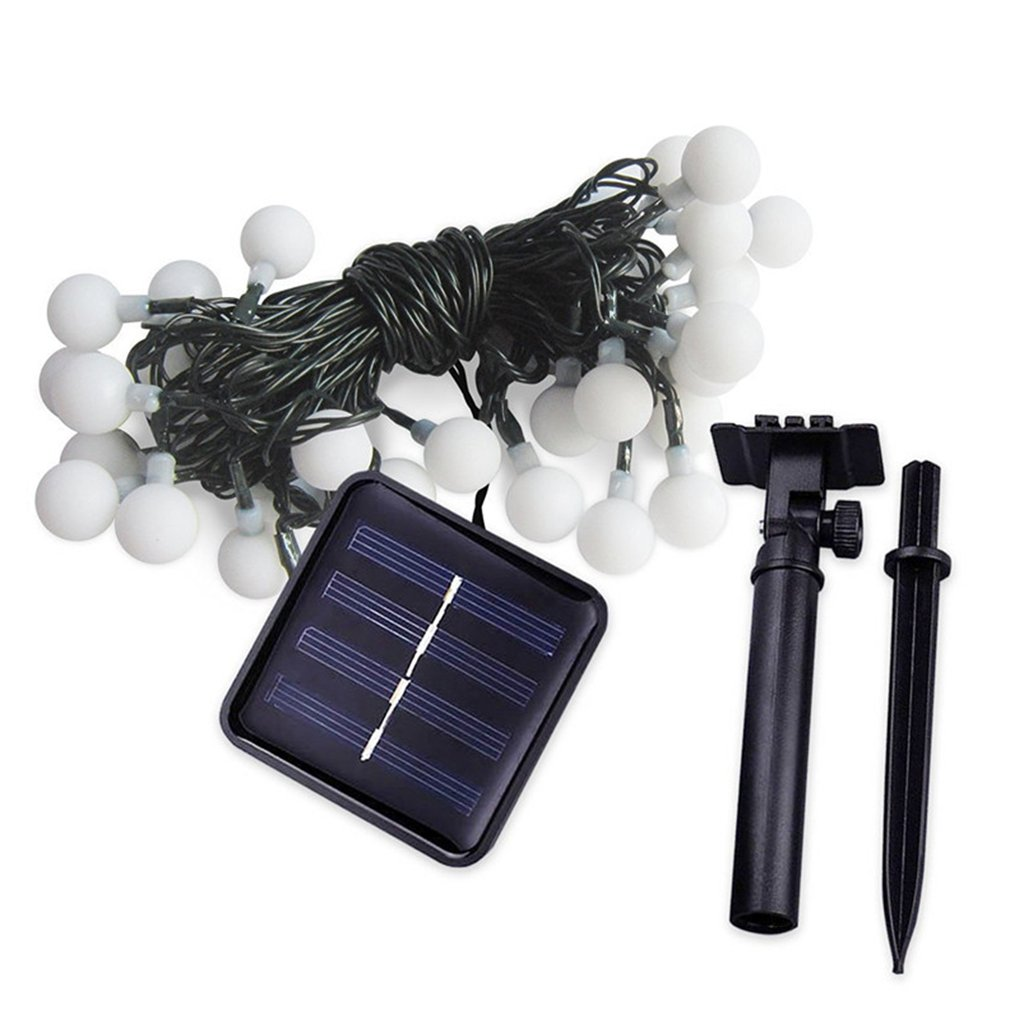 Led Solar Light String Christmas Small Lights Outdoor Ground Lawn Lights Courtyard Garden Landscape Professional