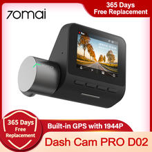 Global Versie 70mai Dash Cam Pro Plus Wifi Ingebouwde Gps 1944P Cyclische Recorder Auto Dvr Parking Auto camera 70mai Pro 70mai Plus
