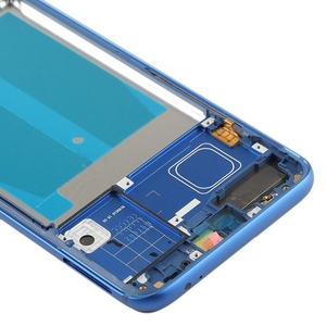 """Image 5 - Original Front Frame For 5.84"""" Huawei Honor 10 Front Frame Middle Frame Bezel Housing With Power Side Buttons"""
