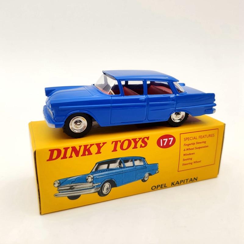 DeAgostini 1/43 Dinky Toys 177 Opel Kapitan Met Vensters Diecast Models Collection