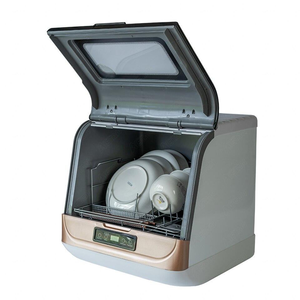 DWS-T05 автоматический отдельно стоящая столешница посудомоечная машина Коммерческая Посудомоечная машина для мытья посуды машина