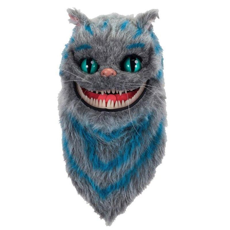 Alice in Wonderland Cheshire Cat Plush mask Halloween cosplay Toe Box Hoods personalized chirstmas gift