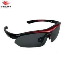 Rion óculos de ciclismo polarizados dos homens 1/5 lente da bicicleta de estrada ciclismo óculos de sol mtb mountain bike ciclismo
