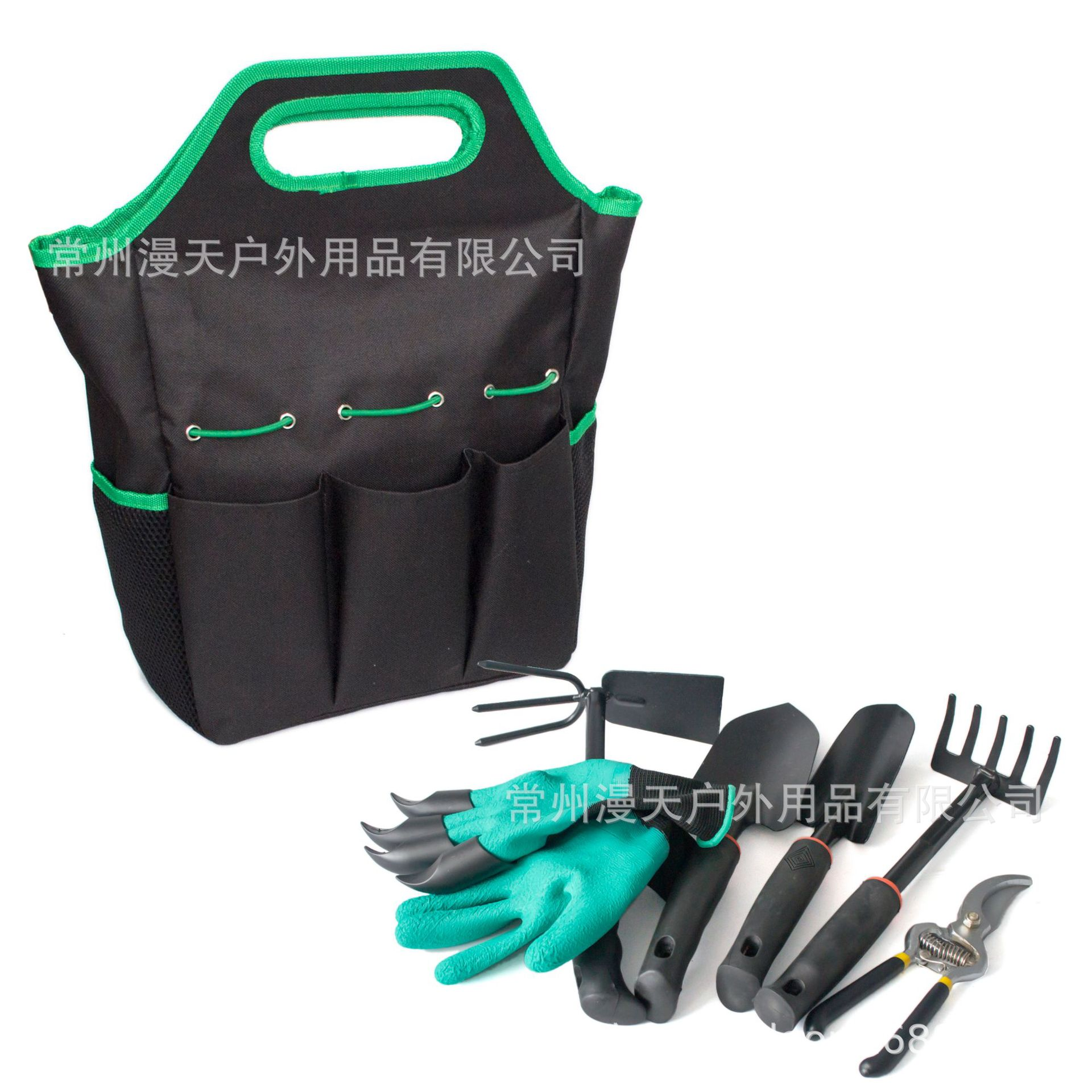 Outdoor Garden Tools Storage Bag 6 Pieces Garden Tool Kit Garden Tools Set