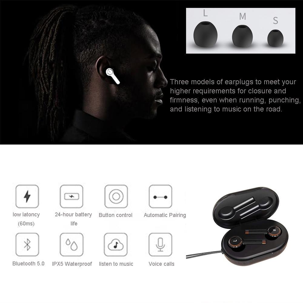 Nouveau TWS L2 Bluetooth 5.0 écouteur stéréo sans fil Earbus HIFI ...