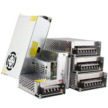 Aydınlatma Transformers LED sürücü, 5 12 24 V Volt güç adaptörü kaynağı, DC 5V 12V 24 V 3A 5A 10A 15A 20A led şerit işık lambası