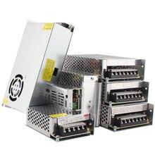 Светильник ing трансформаторы светодиодный драйвер 5 в возрасте от 12 до 24 вольт Мощность адаптер питания, постоянный ток, 5 В, 12 В, 24 В постоянного тока, 3A 5A 10A 15A 20A для светодиодный полосы светильник