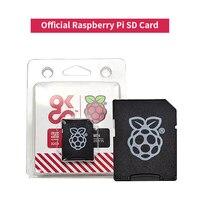 Raspberry Pi 4b-tarjeta de memoria SD original oficial, tarjeta de memoria TF 32G, incluye sistema NOOBS 32-bit para Raspberry Pi 4/3b/3b +