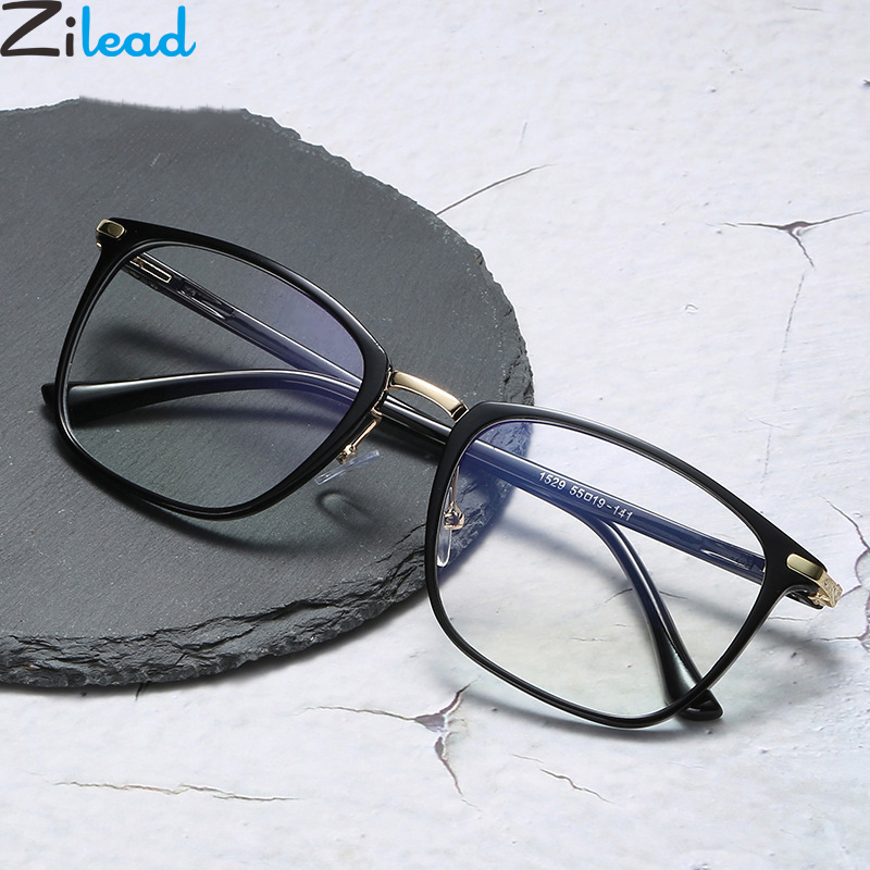 Zilead Ultralight Square Glasses Frame Women&Men Clear Lens Optical Spectacle Eyeglasses Eyewear