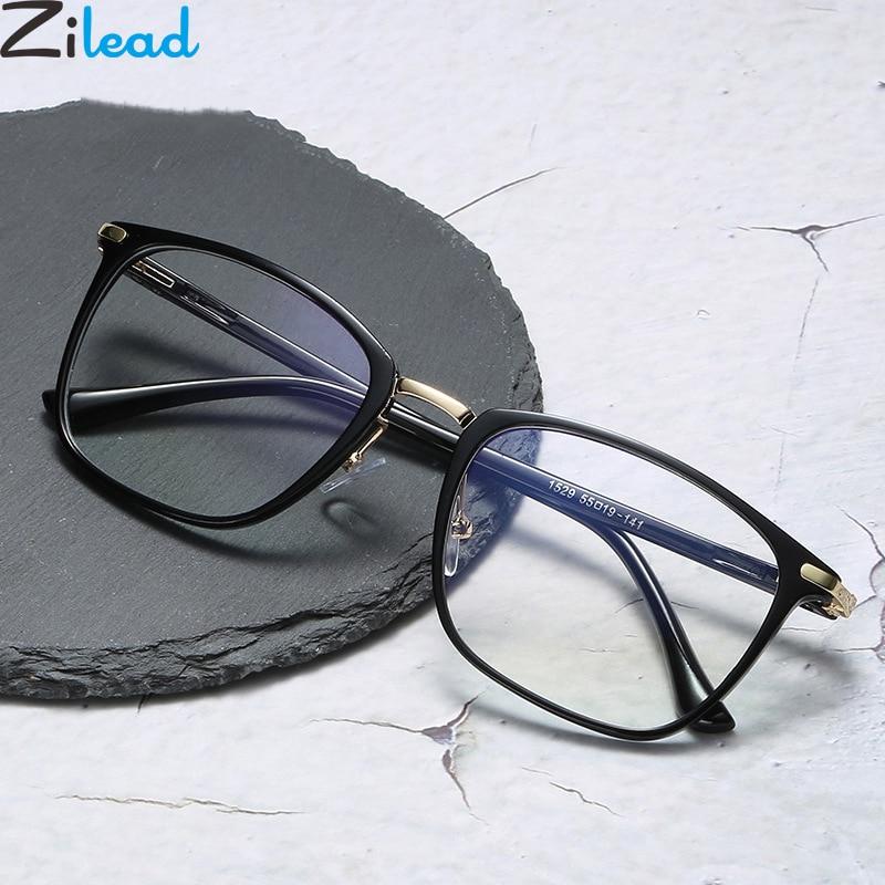 Zilead Ultralight Square Glasses Frame Women&Men Clear Lens Optical Spectacle Eyeglasses Eyewear