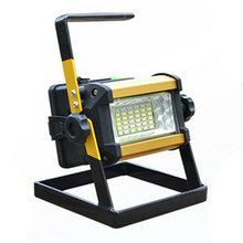 36 LED Rechargeable Portable Outdoor Camping Flood Light Spot Work Lamp Camping Fishing Lamp Monden New aDropshipping N5