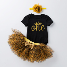 1 год, детское платье на день рождения, комбинезон + платье-пачка + повязка на голову, дешевая одежда для новорожденных 12 месяцев, платье для к...