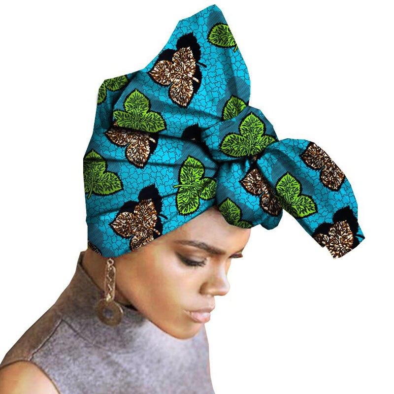 Custom African headwear national fashion womens features cotton batik print headband towel unique design  temperament