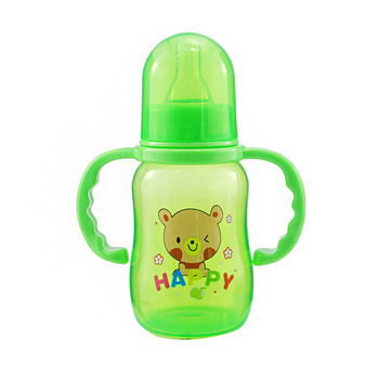 New Cute Baby Newborn Nursing Nipple Bottle Safety PP Pacifier Milk Water Bottles Children Infant Feeding 150ml For Baby new arrival feeding bottles cups for babies kids water milk bottle soft mouth duckbill sippy baby feeding bottle infant training