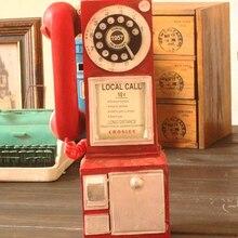 Ретро фигурки для телефона VILEAD 30 см из смолы, старые грязные поделки, винтажные украшения для дома, Креативные аксессуары для ремесла в евро...