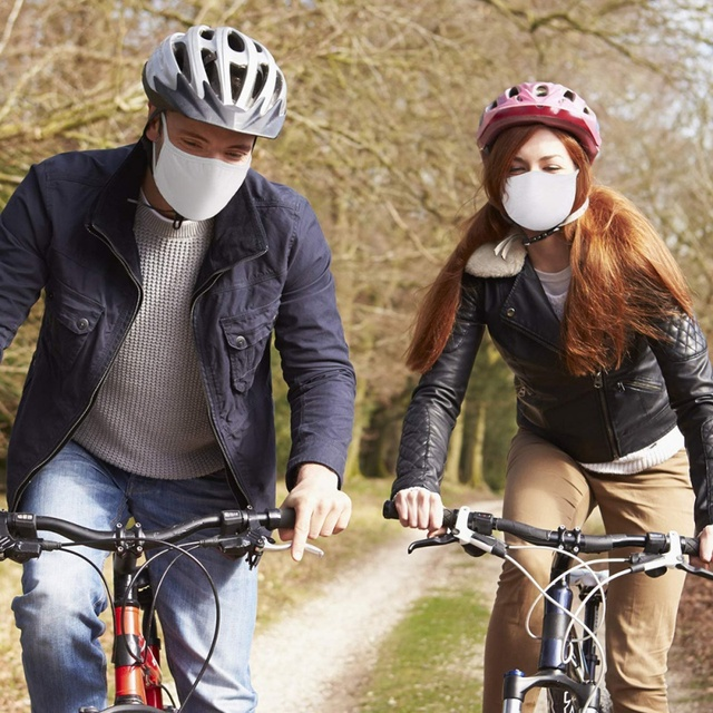Unisex Carbon Cotton Ant Flu Dust Reusable Masks Activated Filters Breathable Safety Respirator For Outdoor Cycling 5