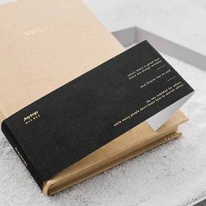 Image 4 - A5 All Black Paper Blank Inner Page Portable Small Pocket Notebook Sketchbook Stationery Gift Hardcover Notepad A5 SIZE