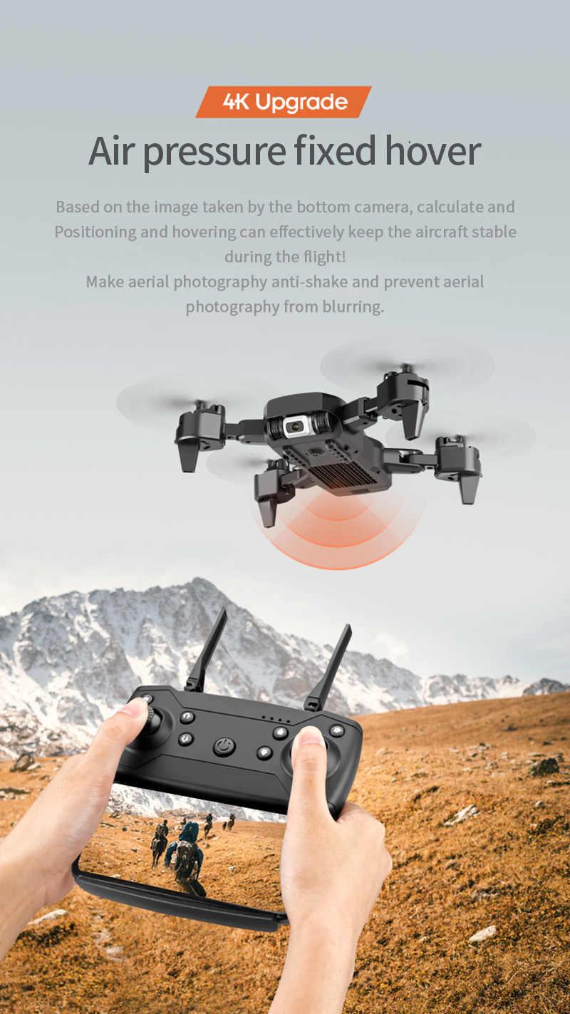 طائرة صغيرة من BENTOBEN طراز RC مزودة بكاميرا مزدوجة بدقة 4K بدقة 1080 بكسل احترافية للتصوير الجوي طائرة مروحية قابلة للطي طائرة رباعية طائرة طائرة بدون طيار هدية